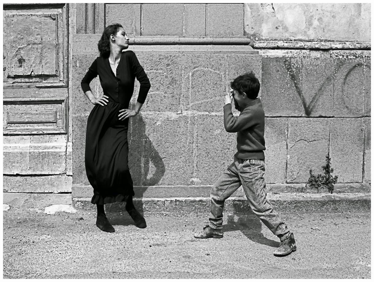 Классическая чёрно-белая фотография Фердинандо Шанна