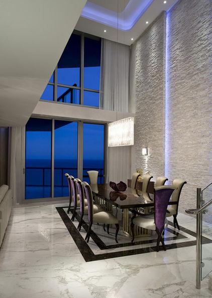 освещение светодиодами гостиной