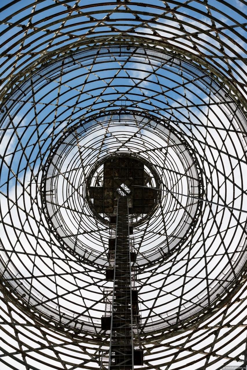 Экскурсия на верхнюю площадку Шуховской башни