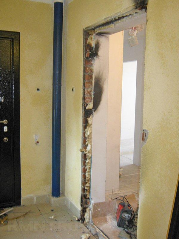 демонтаж металлической двери стоимость