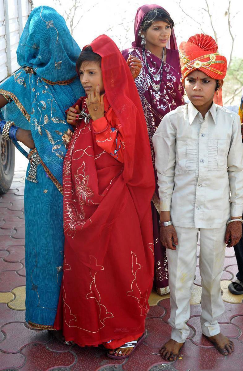Браки заключённые с детьми и между детьми