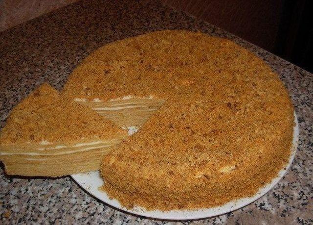 торты медовик с заварным кремом рецепты с фото