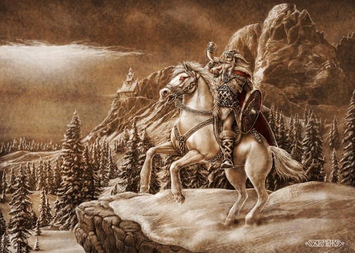 Родные Боги. Картины Игоря Ожиганова (54 картины)