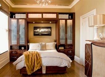 Встроенные кровати: новые возможности вашей спальни
