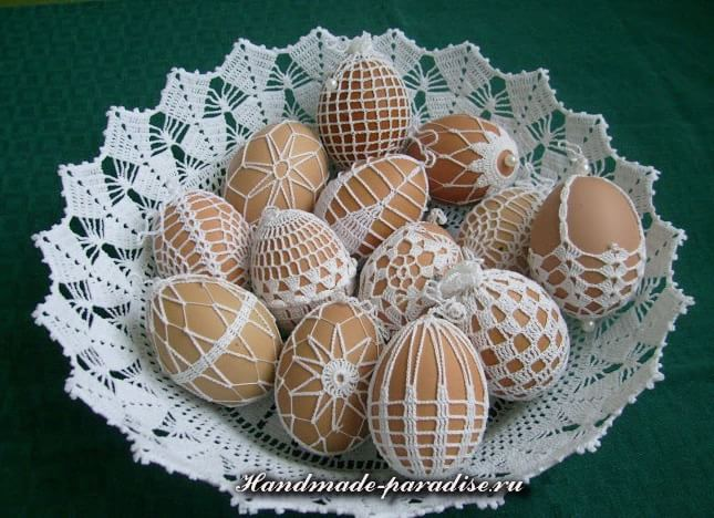 Обвязка крючком пасхальных яиц (13)