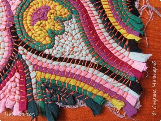 Мастер-класс Поделка изделие Вышивка Вышивание б\у футболками Бисер Канва Нитки Ткань фото 16