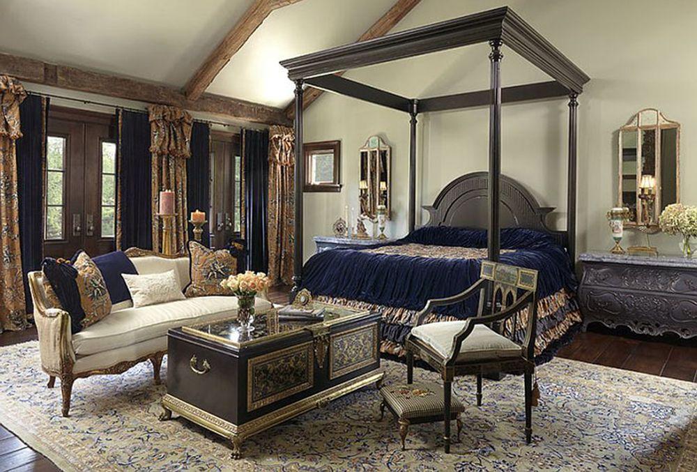 Роскошные спальни в викториа…