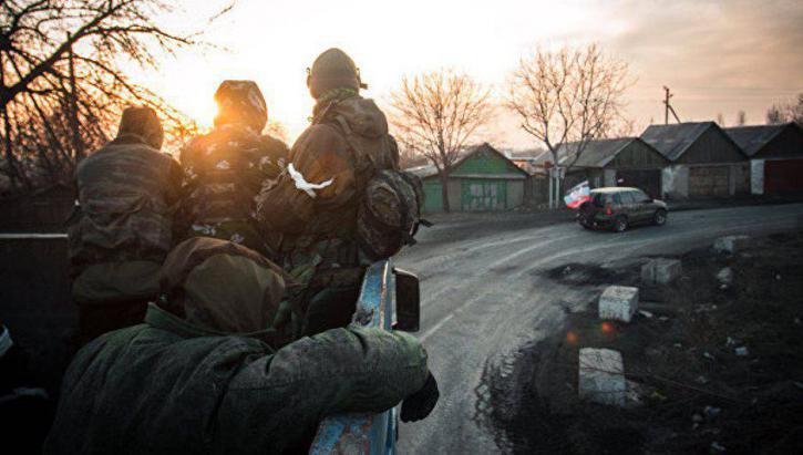 Войска в Донбассе приведены …