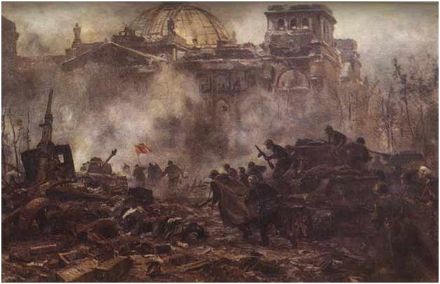 Почему разрушенный Рейхстаг …