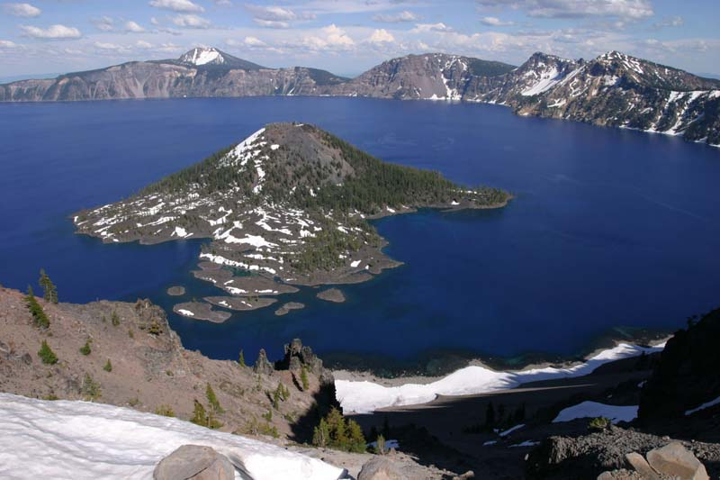 Озеро Крейтер, штат Орегон, США
