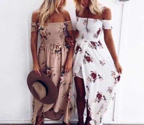 Расцветаем — подборка образов с женственными платьями
