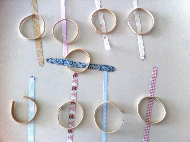 Как сделать браслет из палочек