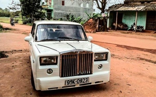 Из ВАЗ-2107 в Rolls-Royce