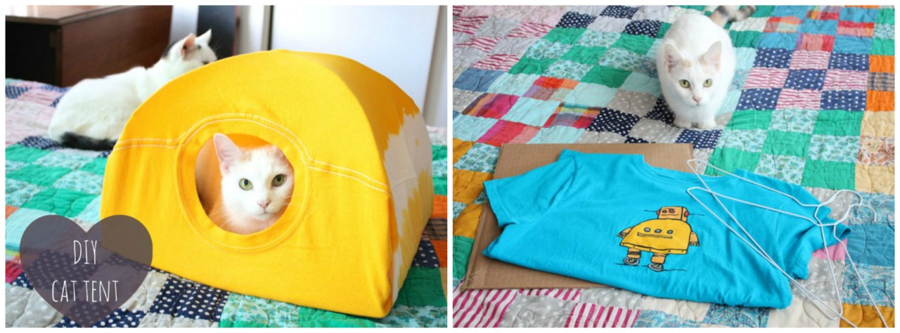 палатка для кота 1