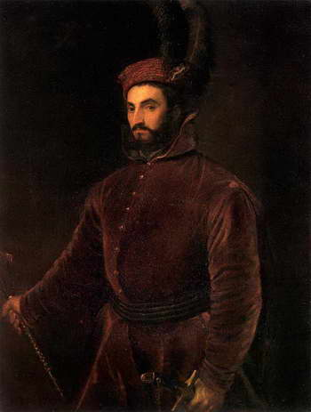 Тициан. Портрет Ипполито Медичи