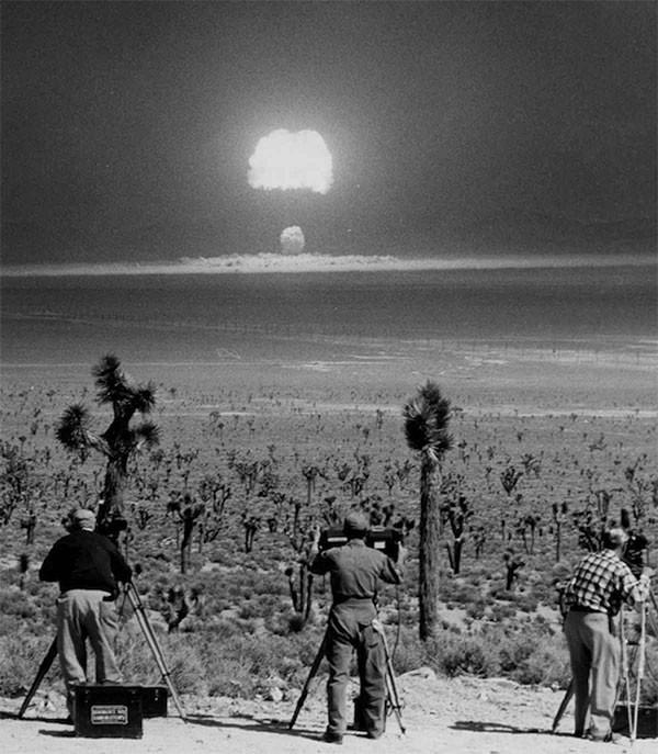 8. Испытание атомного взрывного устройства Wasp Prime. 1955 год. история, неизвестные фото, фото