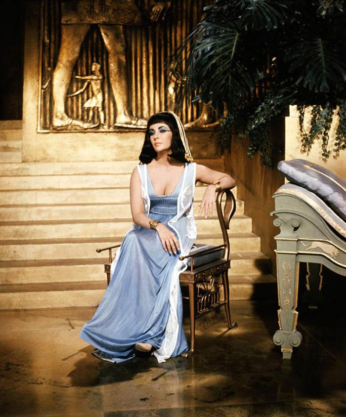 Элизабет Тейлор (Elizabeth Taylor) на съемках фильма «Клеопатра» (Cleopatra) (1963), фото 7