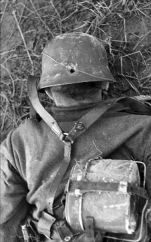 Немецкий солдат...