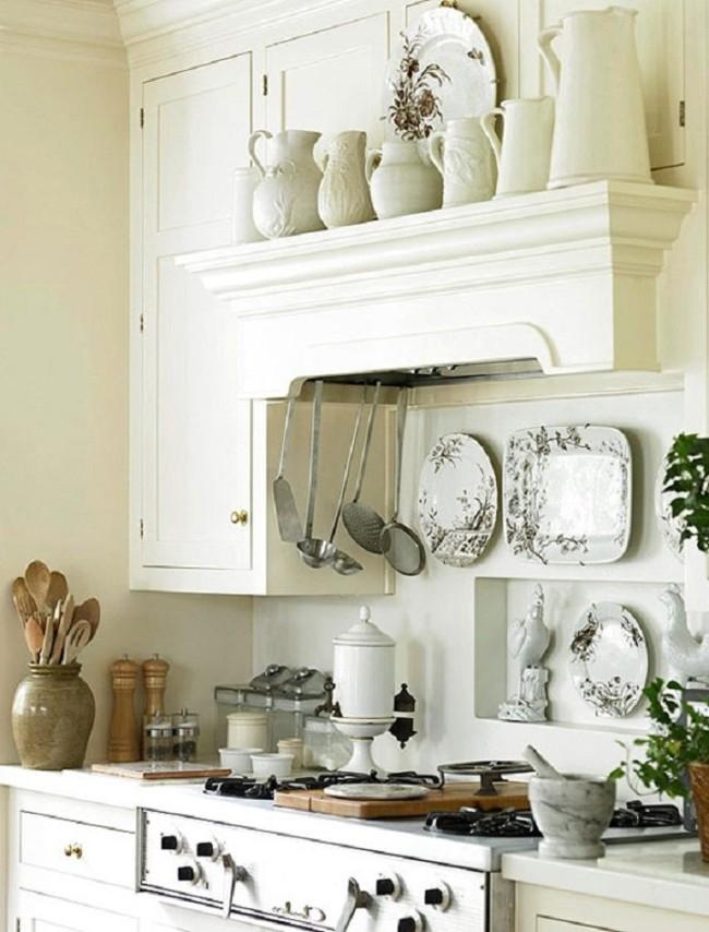 Organisation des Raumes in der Küche