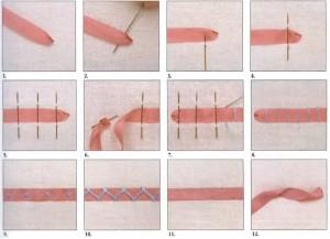 уроки вышивки шелковыми лентами