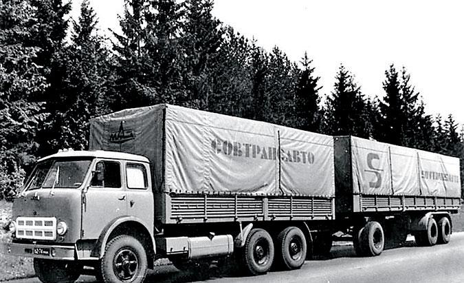 МАЗ 500-й серии: советский «дальнобой»