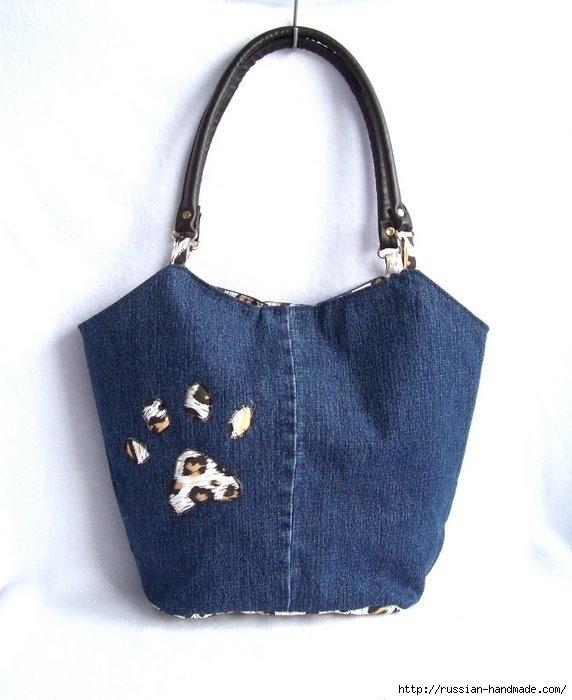 Модные сумки из старых джинсов (4) (572x700, 147Kb)
