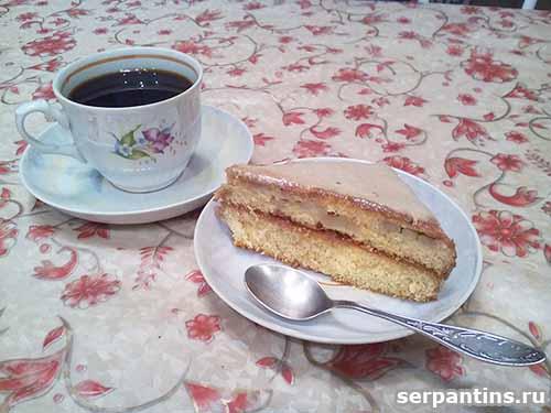 Медовый торт на кефире