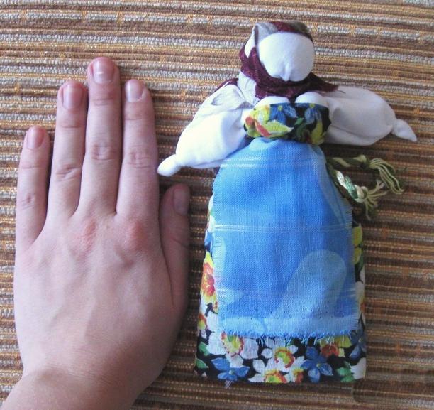 Как сшить куклу-желанницу 11