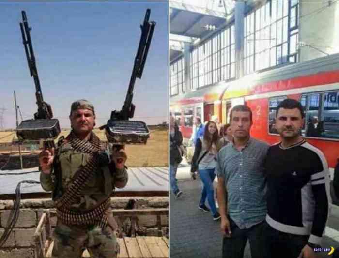 """Вслед за """"беженцами"""" в Европу  ИГИЛ  шлет оружие ( в Греции были арестованы контейнеры с оружием)"""