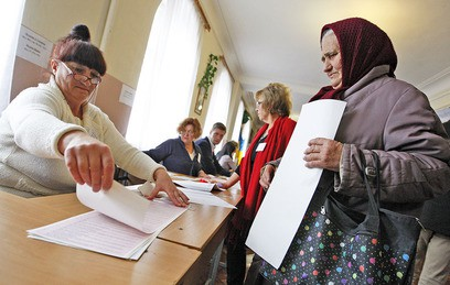 На Украине завершились выборы в органы местного самоуправления