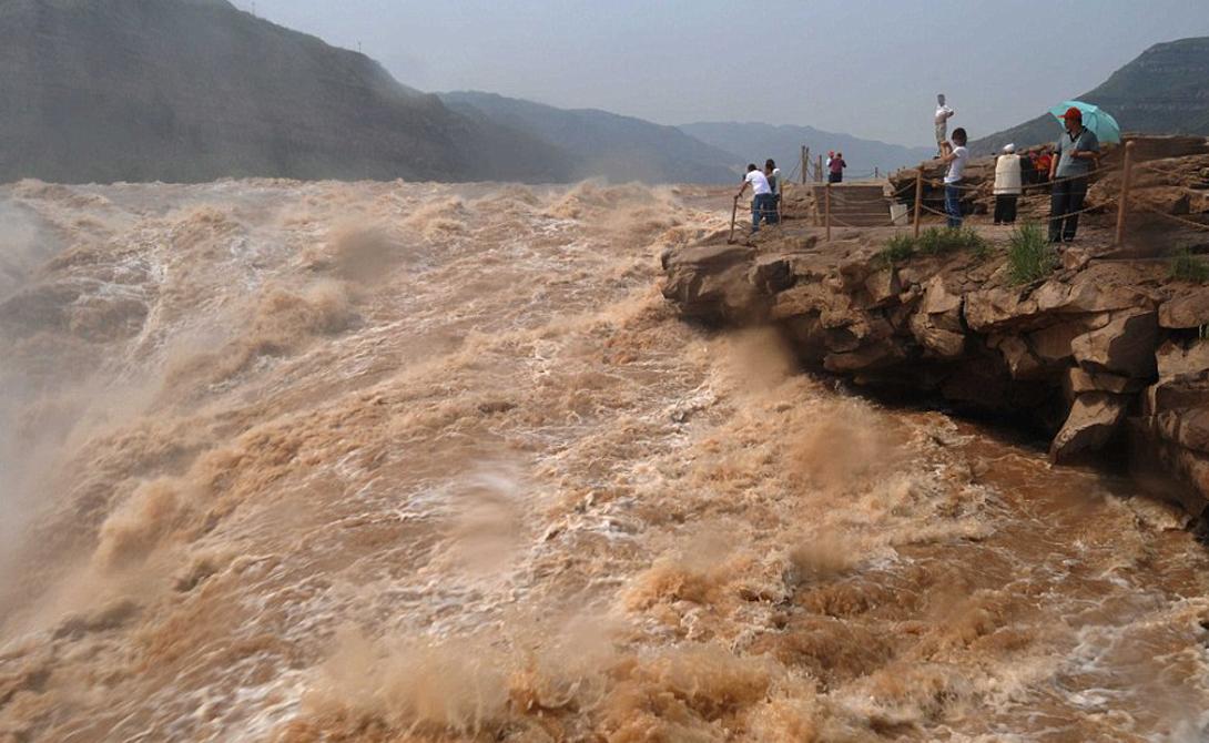 Желтая Река Китай 5 464