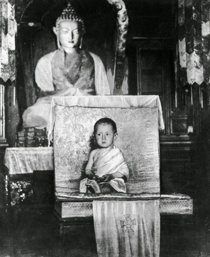 Далай-лама, 2 года, 1937 дети, известность, история, фото