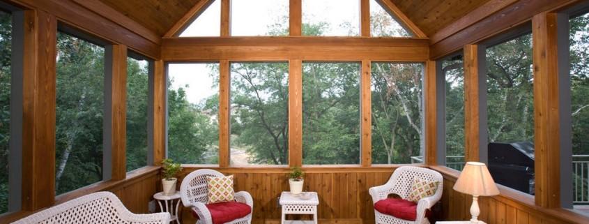 Деревянная веранда (терраса): идеи оформления