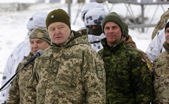 Порошенко — Путину: Это вам не шутки, это война