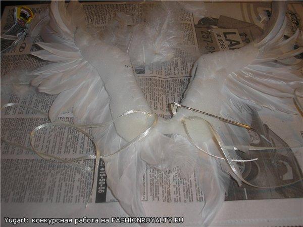Как самой сделать крылья ангела