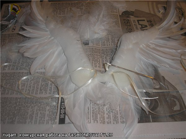 Крылья для ангела куклы