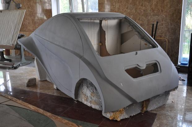 Автомобиль своими руками из стеклопластика