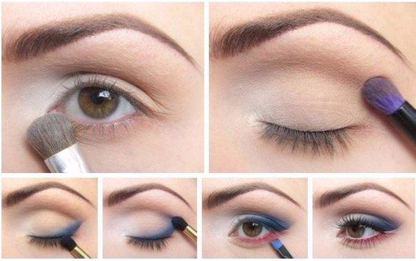 Эффектный дневной мэйк-ап для любого цвета глаз