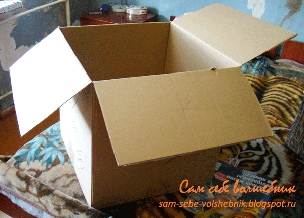 Из старых коробок своими руками