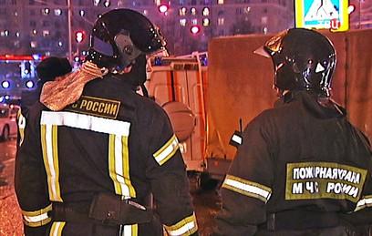 СКР: при пожаре на Стромынке погиб один ребенок