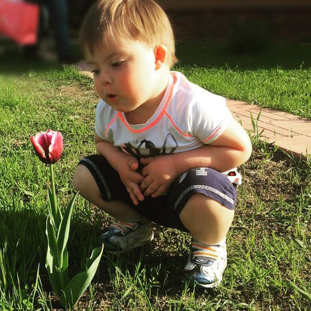 1 апреля сыну Эвелины Бледанс, Семену, исполнилось три года/Instagram