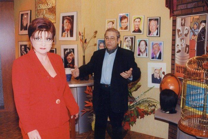 Евгений Петросян и Елена Степаненко. Фото