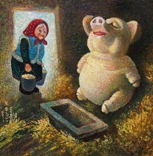 художник Валерий Сыров картины - 14