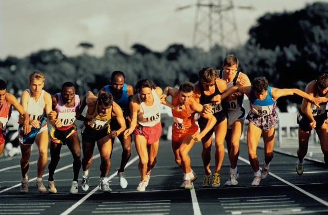 Спринтерские дистанции бега