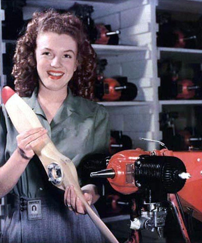 19-летняя Мэрилин Монро, 1945 дети, известность, история, фото