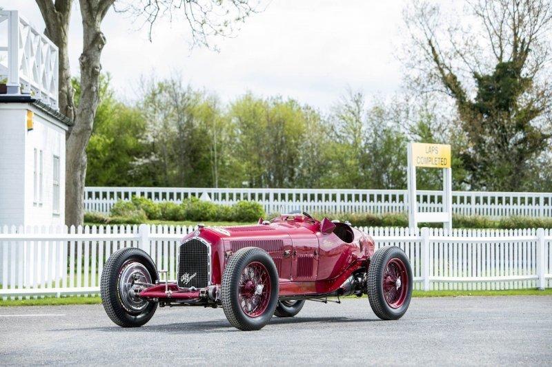 Первое творение Энцо Феррари: Alfa Romeo 1934 года продадут по цене двух Bugatti Chiron
