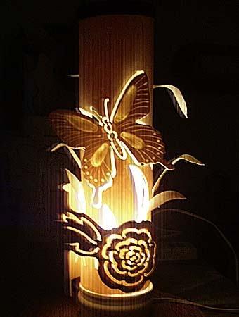 светильник Бабочка своими руками из пвх трубы