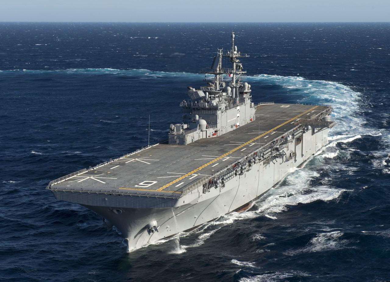 «Америка» превратится в конвойный авианосец
