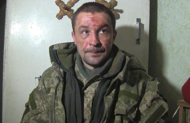 Пленный солдат ВСУ: Нас кинули наши командиры