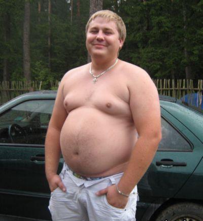 пузатые мужики голые фото